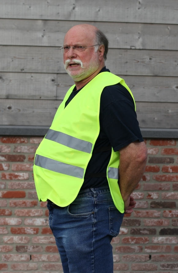 safety vest with elastic P920